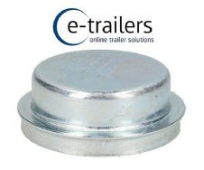 64mm Metal Grease Dust Wheel Hub Cap for For Knott Hubs - Ifor Williams P6 P6e